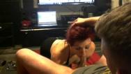 Dog like my dick Deepthroating slutwife gets treated like a dog