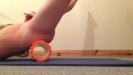 Regeneration latex foam Playing with foam roller
