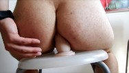 Langstons gay bar atlantic ave brooklyn Big ftms booty hard anal fucking and gaping on a bar stool with a dildo