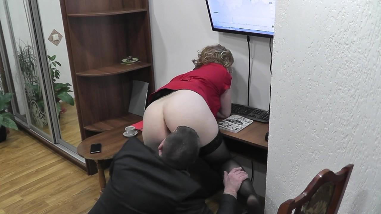 скрытая камера секретарши порно - 12