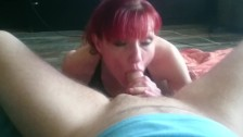hot deepthroat blowjob