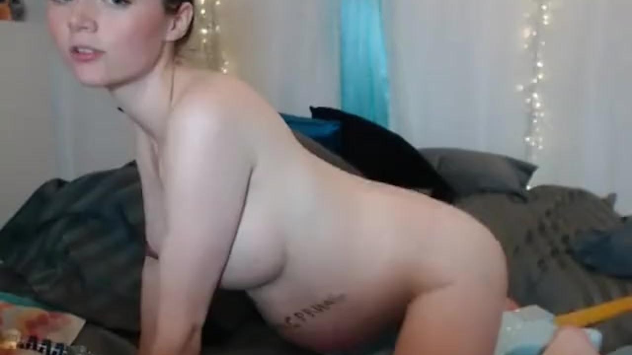 Amateur model topless
