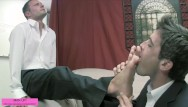 Gay foot fetish videos Another businessman foot fest