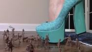 Fetish crush stories heels women Crush fetish: giantess goddess lucy crushes army men with heels lucywants