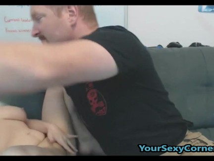 Playing With Midget Wife While She Sucks Cock