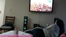 Creampied While Playing FortNite