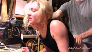 Bad ass utility Painal bunny gets her little ass fucked and filled with cum for being bad