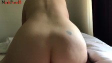 Slut gets fucked hard in the ass till she screams out an orgasm