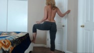 Fuck with pants Yoga pants fashion show with milf camgirl jess ryan