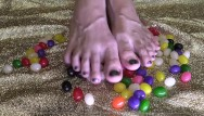 Free nude screensavors - Savor my toe candies - asmr - bare foot fetish