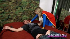 Cory Chase in Lady Deadpool - Super Gurl Comes to the Rescue