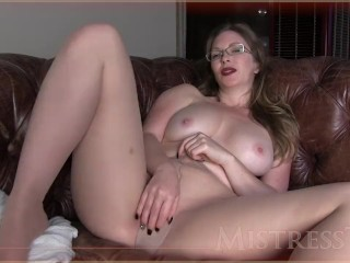 Pantyhose Fetish With Step Auntie