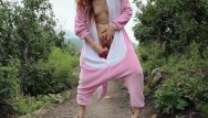Adult furry artwork Risky public dildo fuck in a furry onsie freckledred