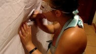 Glory hole sexy Sexy teen sucks cock from glory hole while boyfriends in the other room