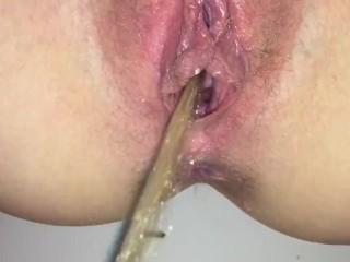 Piss nipple cum