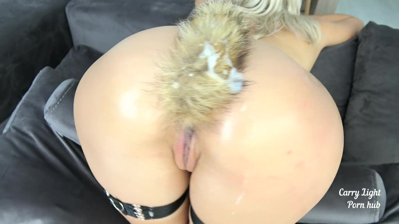 Girl With Fox Tail Anal Plug Made Him Cum Hard  Redtube -5381