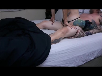 I cum on his cock when he cums in my ass