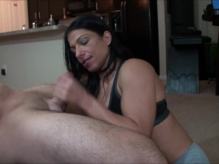 Step mom's amazing mouth