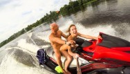 Adult newcomers centre Public anal ride on the jet ski in the city centre. mia bandini