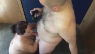 Bbw heavy tits 9 Horny wife sucks husbands uncut cock - he explodes on her face 9 spurts hd