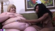 Ebony skinny pussy Big belly loving for ssbbw ivy davenport from skinny black babe sierra simmons