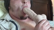 Teen gay self suck Big thick cumload self facial sucking dildo licking cum cumshot rating