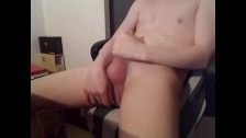 HUNG HIGH SCHOOL BOY SCREAMING OF PLEASURE INTENSE HUGE CUM LOAD & DICK OMG