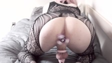 Anisha Jay - Cute Sissy Trap In Chastity Spins Ass Fidget Spinner For 10min