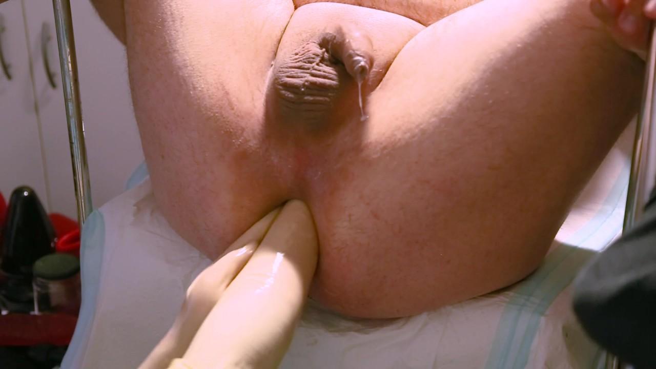 Маркус сайда - двойной фистинг и гигантское зеркало от медсестра