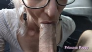 Poppy mature video Daddys cum slut - car blowjob compilation for fathers day