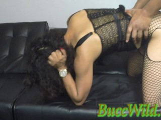 Ghetto Girl Painful ANAL Tap Out…..BuccWild and Special K
