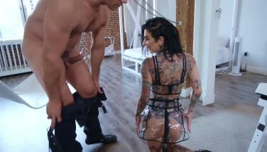Joanna Angel Anal Cream Pie with BDSM