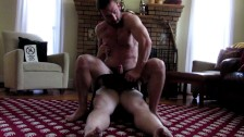 Mike Gaite rimmed and fucked by a bear Part 2