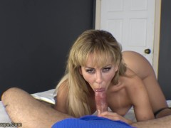 Fun Fucky-fucky At Home With Cherie Deville | Hand-job, Feetjob, Blow-job, Creampie