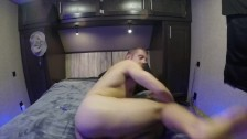 Dildo fucking and Jerking off