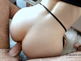 FREUTOY review + Hot ANAL sex scene and huge cumshot – couple amateur