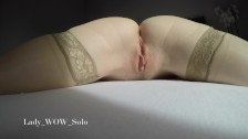 4K Close up masturbation, wet pussy and real orgasm