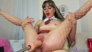 8 realistic dildo Naughty schoolgirl,loves sex machine.record live stream 8