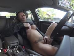 Uber driver got caught masturbating while playing Nutaku by the costumer
