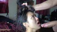 Asian american girlfriend Throatpie for my asian girlfriend sukisukigirl blowjob master