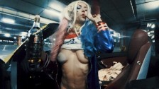 Public fuck with horny Harley Quinn. Halloween