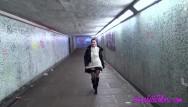 Sexy flash clip Subway flash