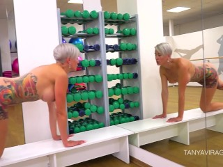 Sporty MILF Tanya Virago on the Fitness Classes