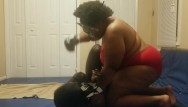 Mistress peeing Mistress beats and pees on slave while wrestling