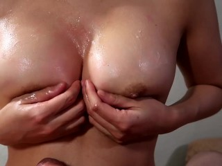 I Gave My Colleague An Amazing Titfuck At A Christmas After Party – Cumplay