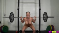Webcam women getting naked - Muscle milf works out naked - cory chase