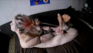 Bondage girls in michigan Hogtie blowjob from young pinkhaired girl