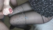 Amy roebach sexy leg pics Teen handjob - cum on legs in sexy pantyhose