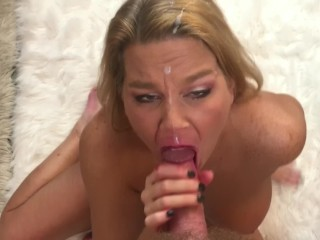 Cum in my Face, Eyes & Mouth Compilation