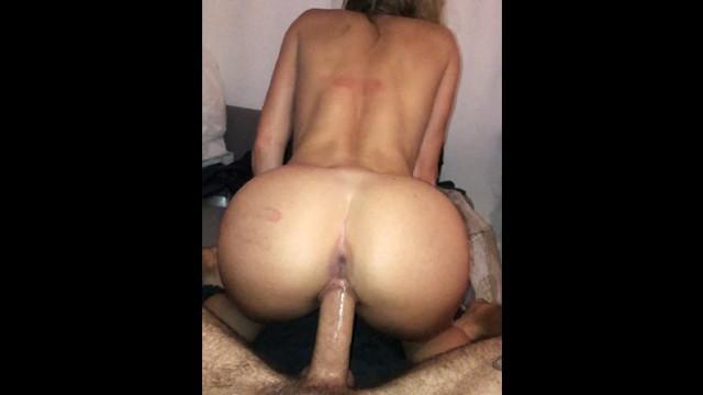 Dripping Wet Pussy Rides Huge Dick - LeoLulu RAW :D